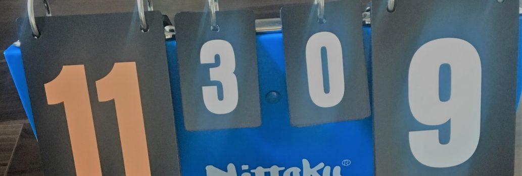 【卓球戦術】3対0の勝ちにこだわらない!?