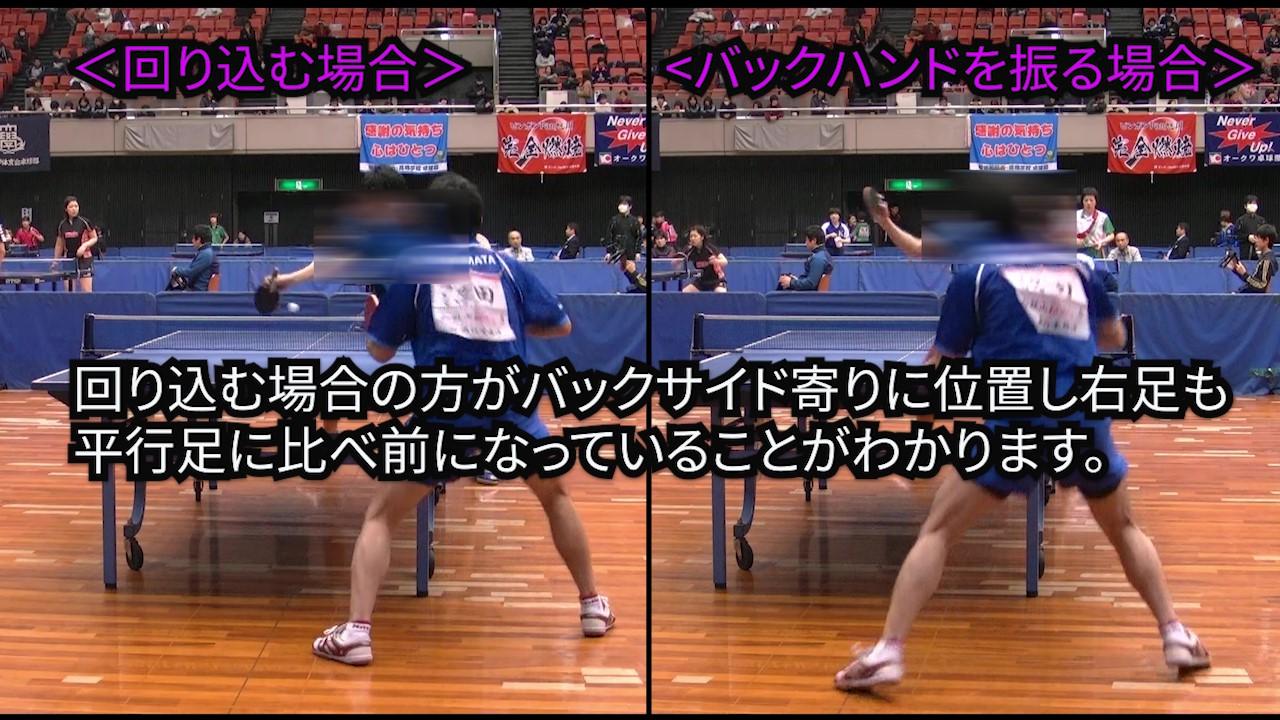 【卓球サーブ/動画あり】サーブを出した後の準備体勢パートⅡ